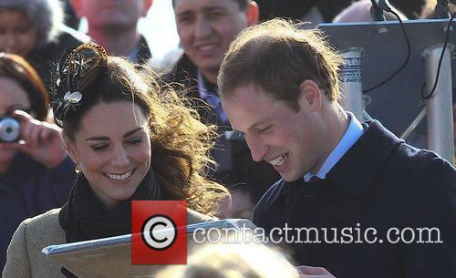 Prince William, Kate Middleton and New Atlantic 33