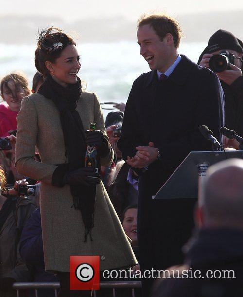 Prince William, Kate Middleton and New Atlantic 40