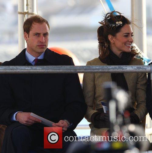Prince William, Kate Middleton and New Atlantic 1