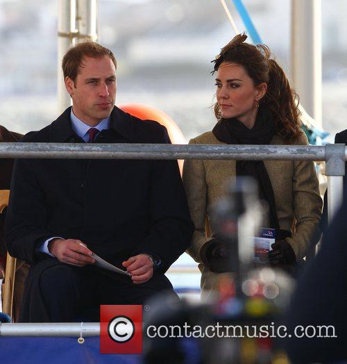 Prince William, Kate Middleton and New Atlantic 75