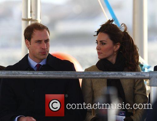 Prince William, Kate Middleton and New Atlantic 74