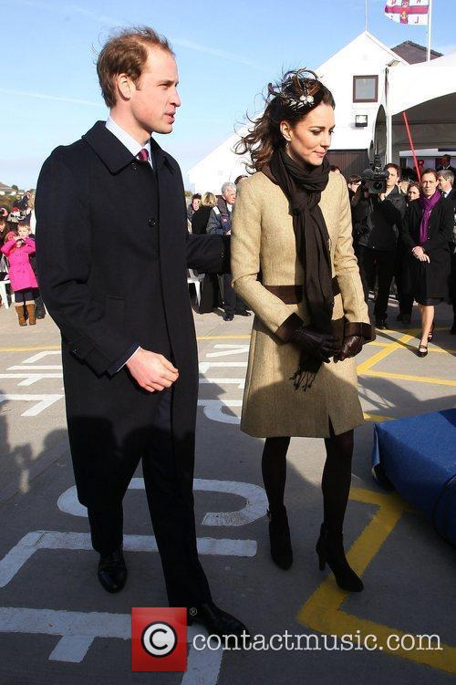 Prince William, Kate Middleton and New Atlantic 4
