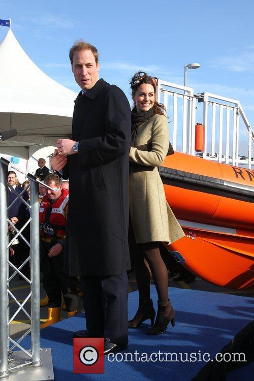 Prince William, Kate Middleton and New Atlantic 8