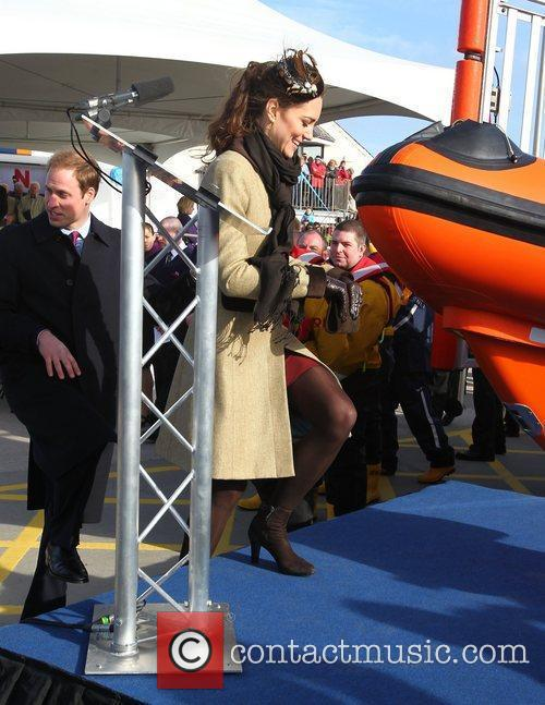 Prince William, Kate Middleton and New Atlantic 7