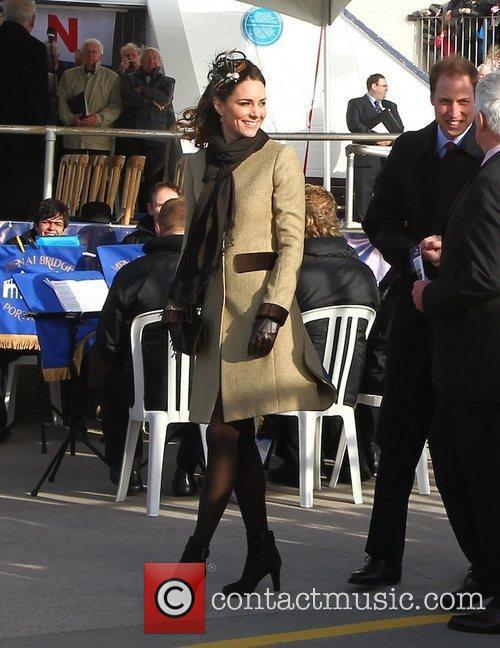 Prince William, Kate Middleton and New Atlantic 12