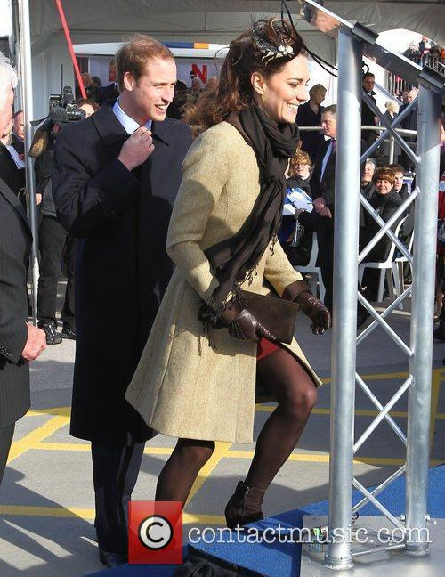 Prince William, Kate Middleton and New Atlantic 10