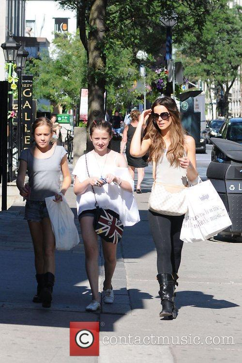 Kate Beckinsale is spotted out and about with...