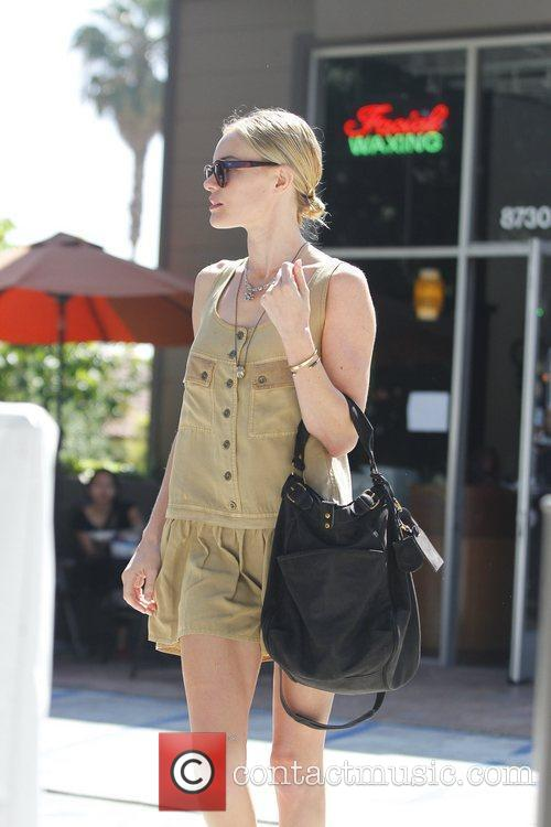 Kate Bosworth is seen leaving a nail salon...