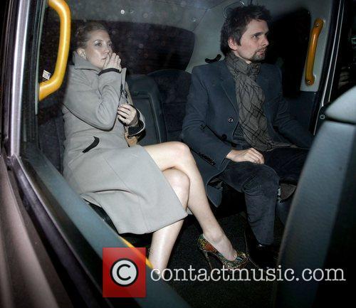 Kate Hudson, Matt Bellamy and Muse