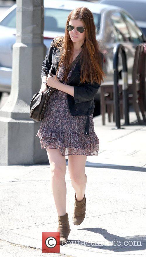 Kate Mara leaving Kings Road Cafe in West...
