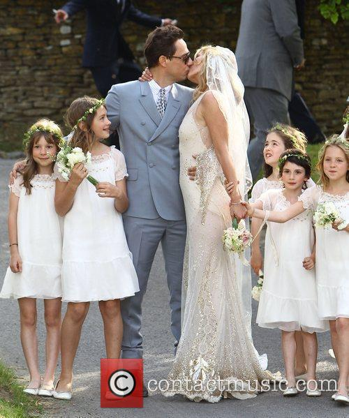 Kate Moss and Jamie Hince Wedding Day in...