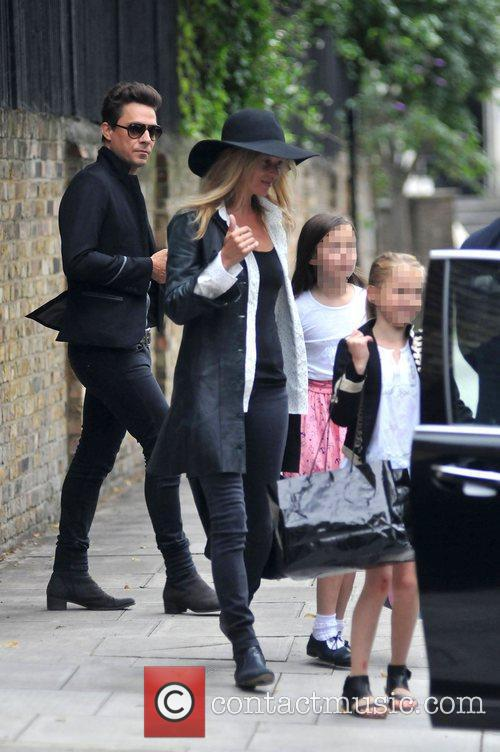 Jamie Hince with new wife Kate Moss and...