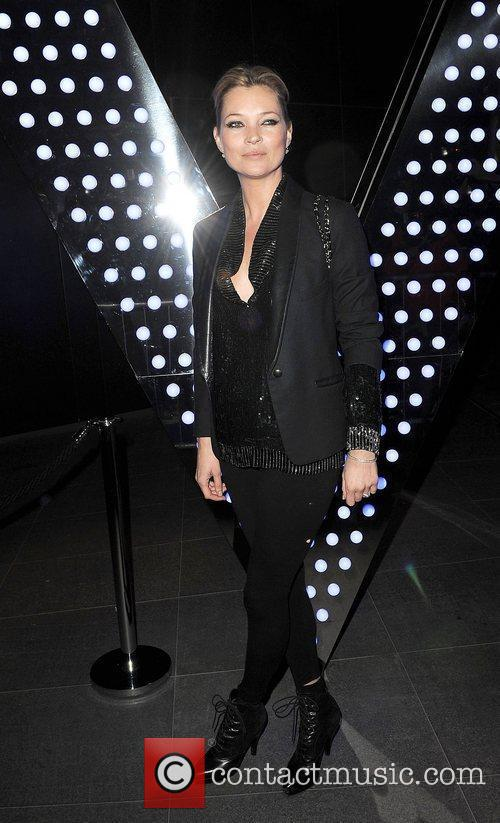 Kate Moss at the W Leicester Square Hotel...