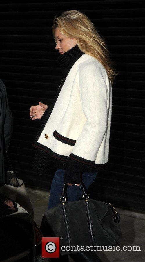 Kate Moss leaving her house London, England