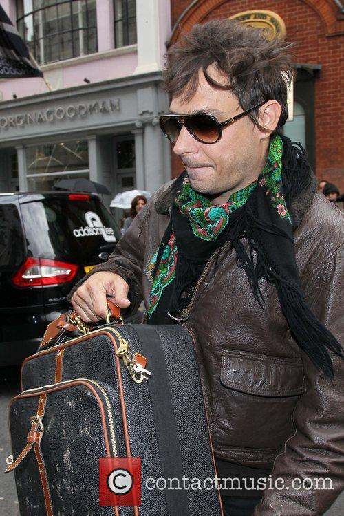 Jamie Hince  out and about in Central...