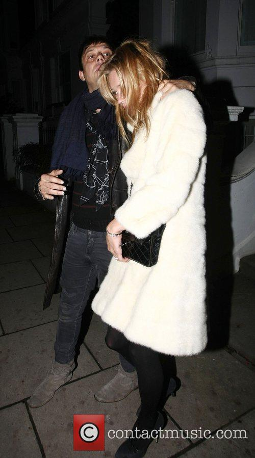 Jamie Hince, Kate Moss, London Fashion Week
