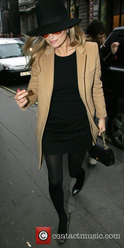 Kate Moss  out and about in central...