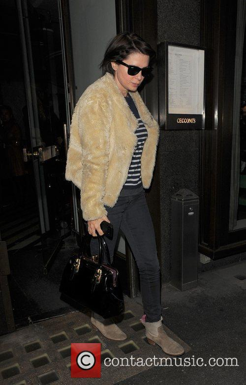 sadie frost leaving cecconi restaurant london england   161111 3613549