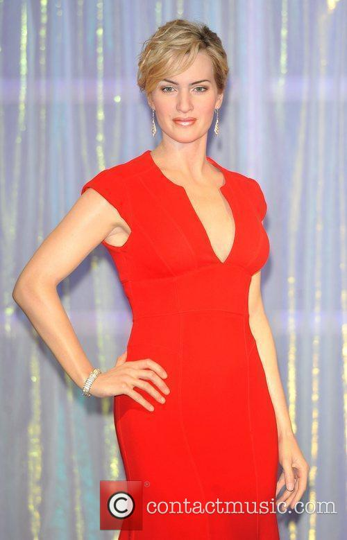 A waxwork of Kate Winslet is unveiled at...
