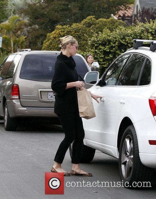 Katherine Heigl out in Los Feliz Los Angeles,...
