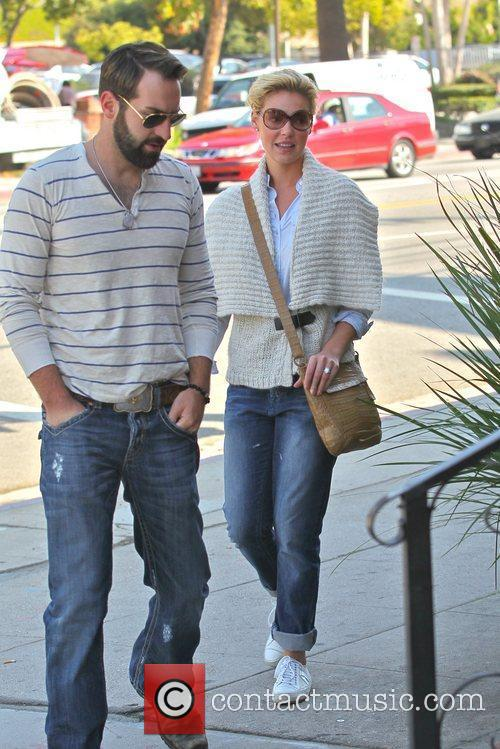 Katherine Heigl and her husband Josh Kelley are...