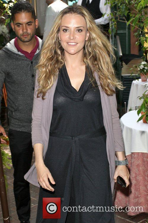 Brooke Mueller Celebrities depart Il Cielo in Beverly...