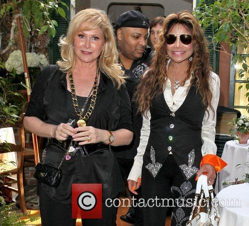Kathy Hilton and La Toya Jackson Celebrities depart...
