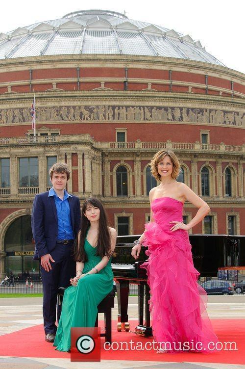 Alice Sara Ott, Benjamin Grosvenor and Katie Derham...