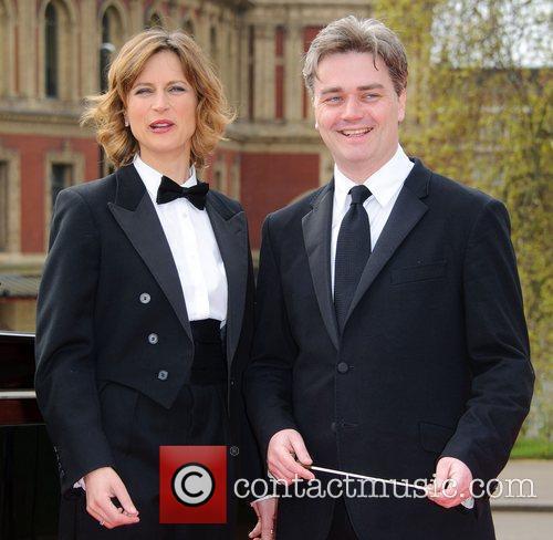 Katie Derham and Edward Gardner Katie Derham and...