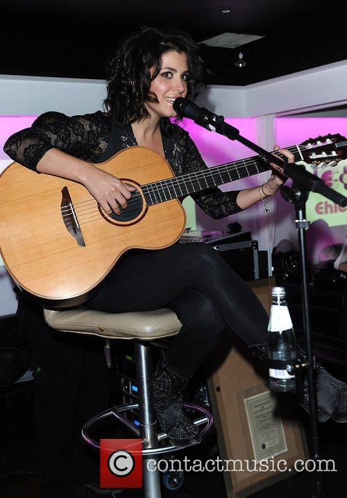 Katie Melua  performing live at the Bond...