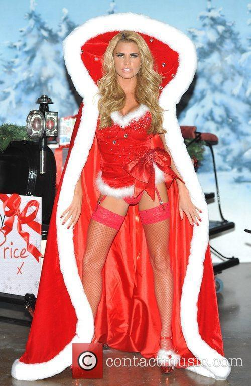 Katie Price launches her new book 'Santa Baby'...