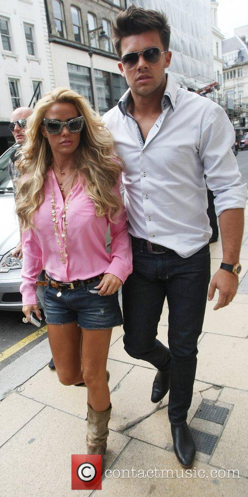 Katie Price and Leandro Penna out and about...