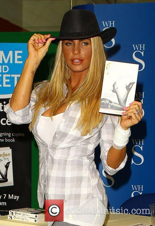 Katie Price launches her book 'Paradise' at WH...