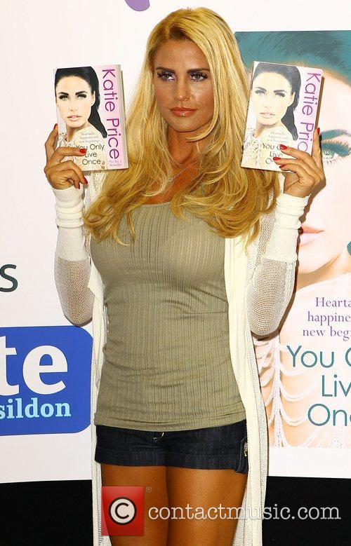 Katie Price signs copies of her book 'You...
