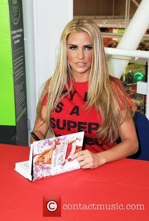 Katie Price and Santa Baby 16
