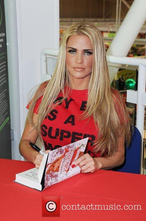 Katie Price and Santa Baby 5