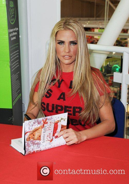 Katie Price and Santa Baby 4