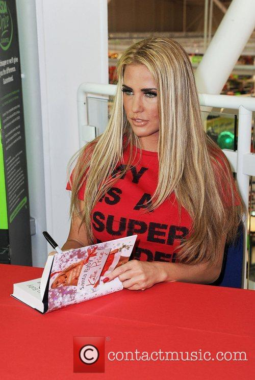 Katie Price and Santa Baby 11