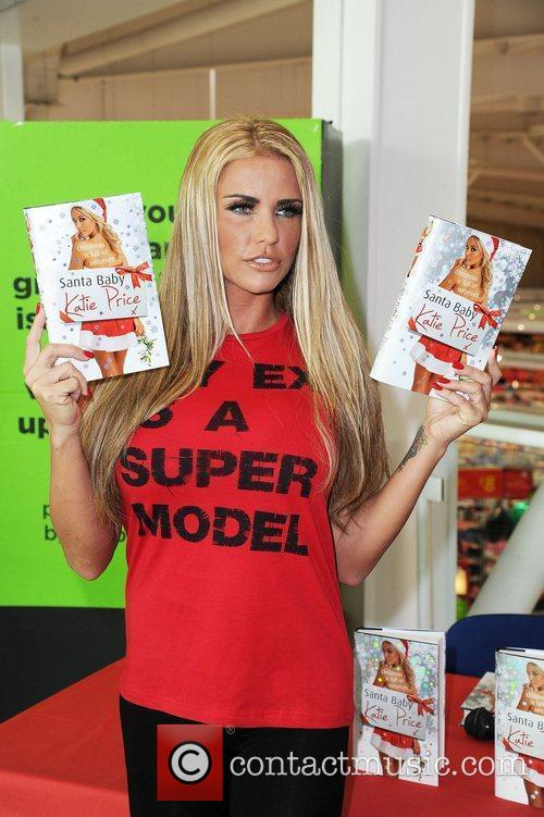 Katie Price and Santa Baby 20