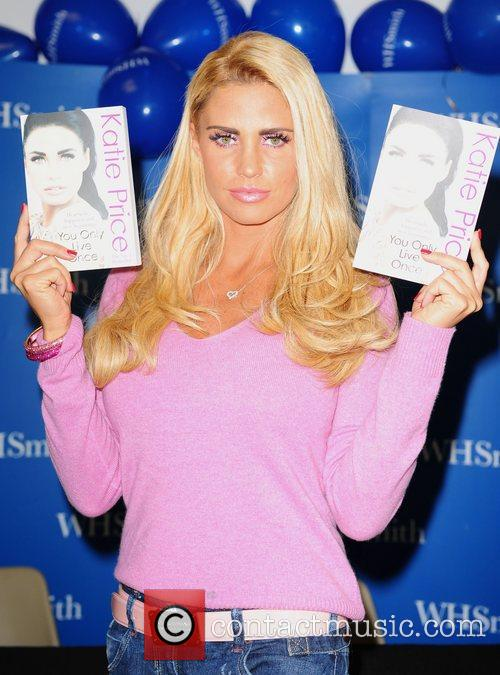 Promotes and signs copies of her book 'You...