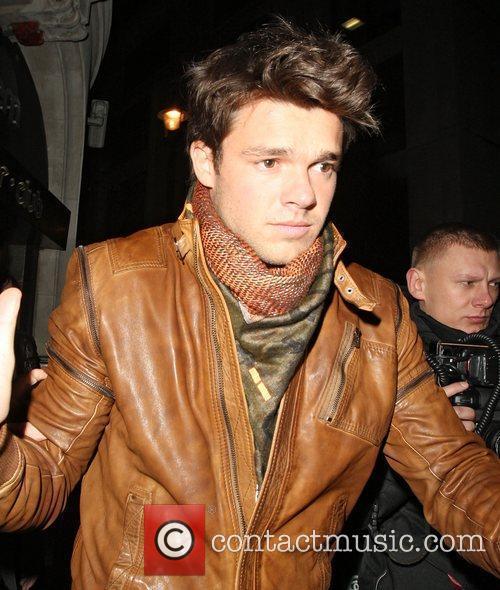 Argentinian model Leandro Penna leaving Gem Bar London,...