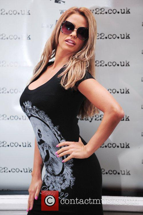 Katie Price  at the pop-up launch of...