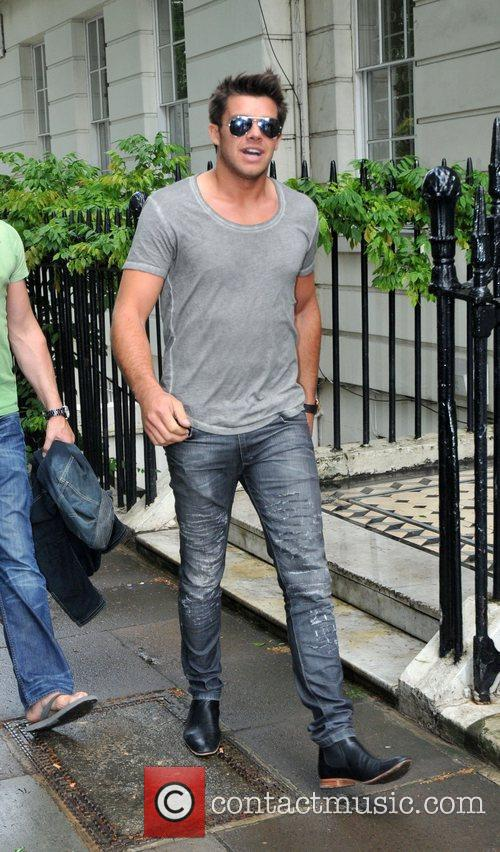 Katie Price's boyfriend Leandro Penna arriving back a...