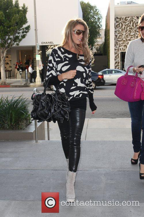 Katie Price arriving at Kitson for Kids to...