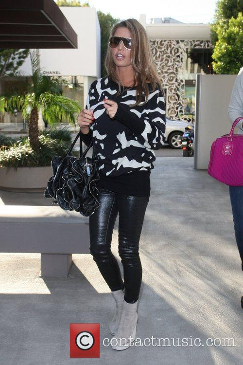 Arriving at Kitson for Kids to go shopping