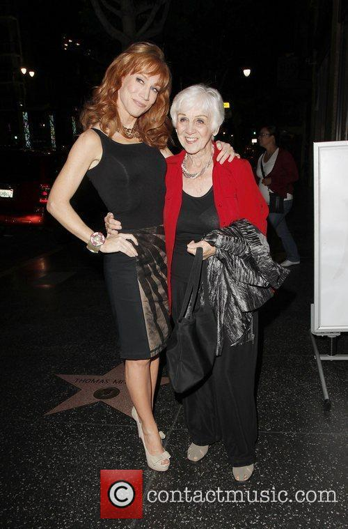 Kathy Griffin and her mother Maggie Griffin Celebrities...