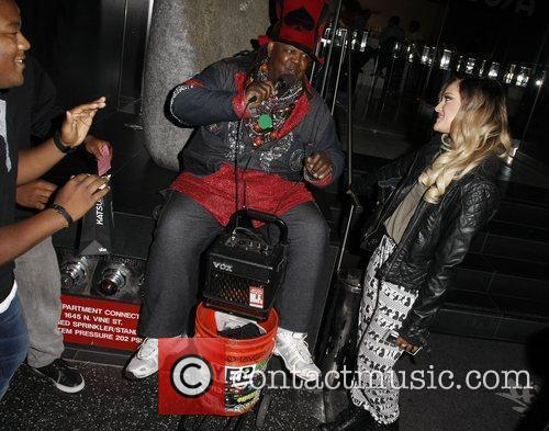 Kyle Massey and Lacey Schwimmer 2