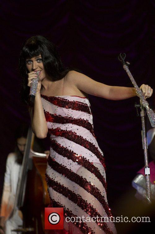 Performs during the opening night of her California...