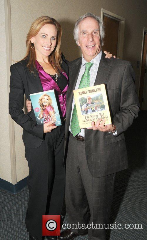 Marlee Matlin and Henry Winkler  Book Signings...