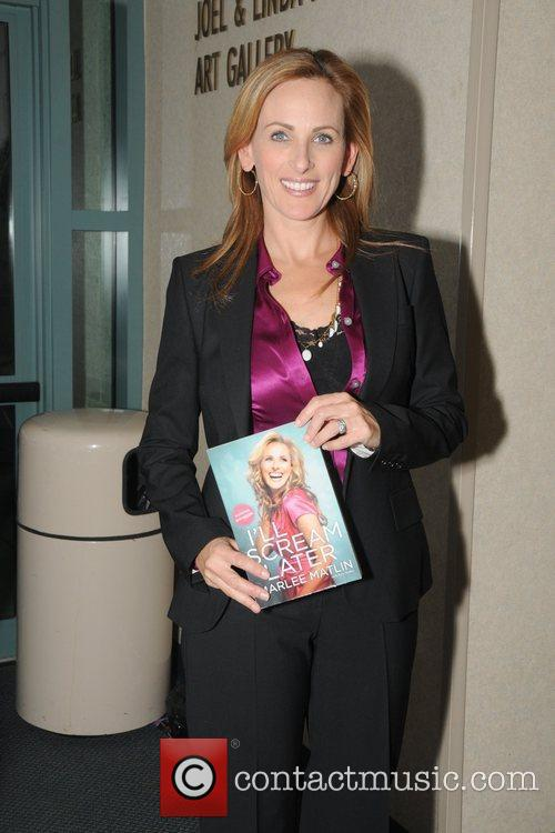 Marlee Matlin Book Signings during the 22nd Annual...